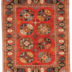 "Afghan Khiva Ersari Rug 5'0""×6'3"""