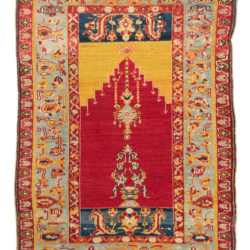 "Antique Anatolian Cover 3'9""×5'6"""