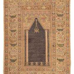 "Antique Banderma Rug 4'0""×5'6"""