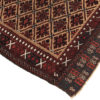 """Antique Belouchi Area Rug with All-Over Repeated Pattern 3'2""""×5'8"""""""