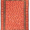 "Antique Bessarabian Kilim 10'10""×12'3"""