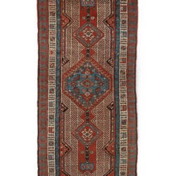 "Antique Camel Hair Serab Rug 2'10""×8'8"""