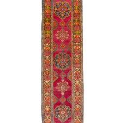 "Antique Caucasian Karabagh 3'4""×16'3"""