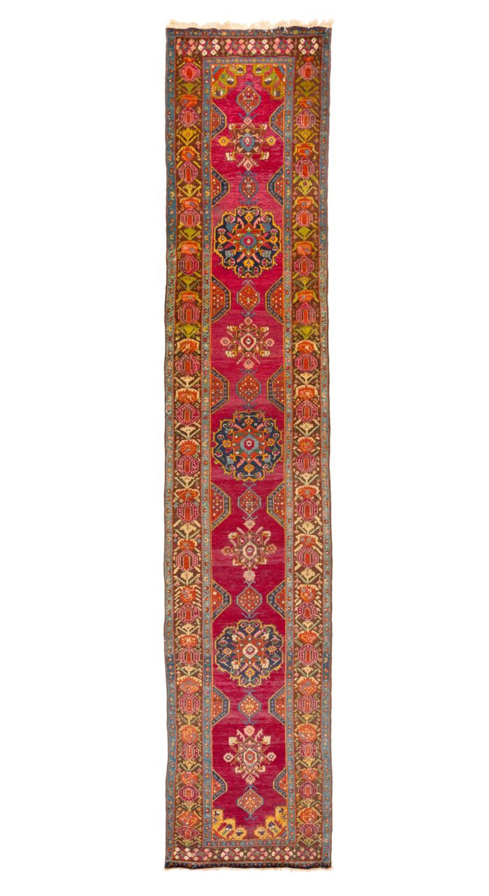 """Antique Caucasian Karabagh 3'4""""×16'3"""""""
