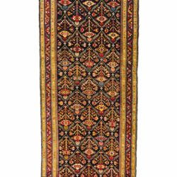 "Antique Caucasian Karabagh 3'9""×18'10"""