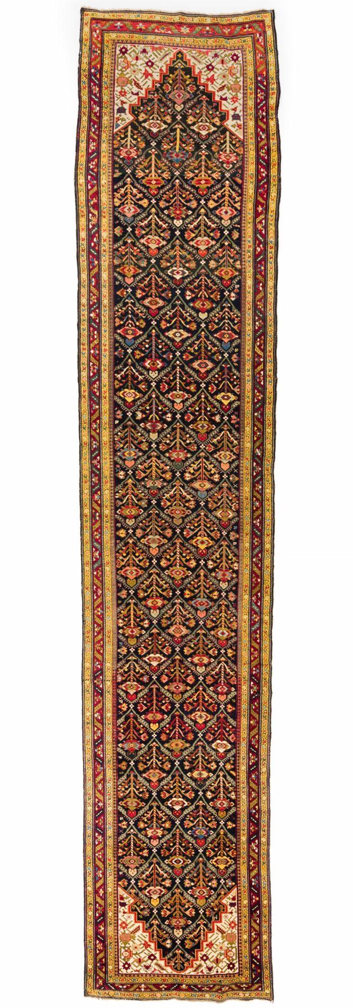 """Antique Caucasian Karabagh 3'9""""×18'10"""""""