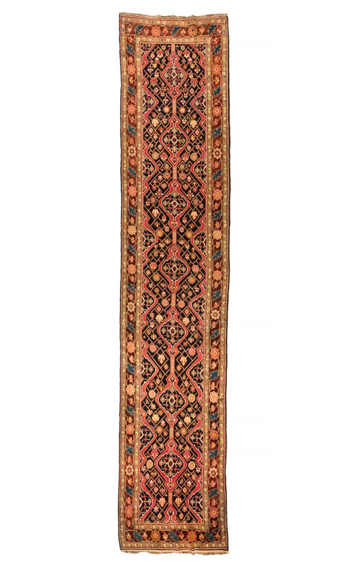 """Antique Caucasian Karabagh 3'7""""×17'6"""""""