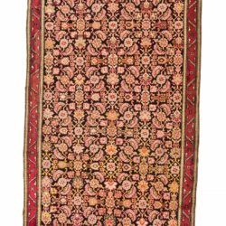 "Antique Caucasian Karabagh 3'8""×19'2"""