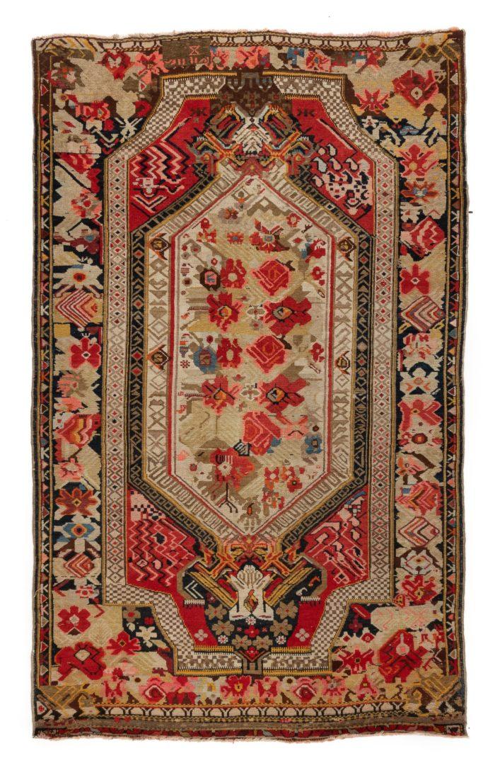 """Antique Caucasian Karabagh 4'6""""×7'1"""""""