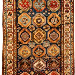 "Antique Caucasian Moghan 5'2""×9'3"""