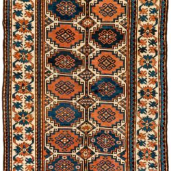 "Antique Caucasian Moghan 5'6""×8'1"""