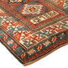 """Antique Caucasian Moghan Kazak 3'4""""×12'9"""""""