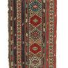 """Antique Caucasian Shahsavan Kilim 2'9""""×4'7"""""""
