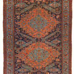"Antique Caucasian Soumak 7'3""×10'6"""