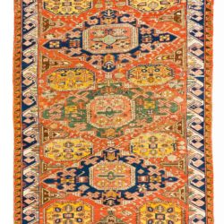 "Antique Caucasian Soumak 3'1""×5'1"""