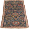 """Antique Caucasus Kuba Hand-Knotted Wool Tribal Rug 3'4""""×5'7"""""""