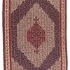"""Antique Caucasus Senneh Kilim 4'10""""×7'4"""""""