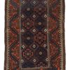 "Antique Central Asia Tribal Belouchi Rug 3'1""×5'8"""