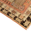 """Antique Central Asian Tribal Pictoral Khotan Rug 4'3""""×7'11"""""""