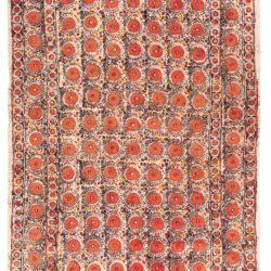 "Antique Chimildik Uzbekistan 5'10""×8'10"""