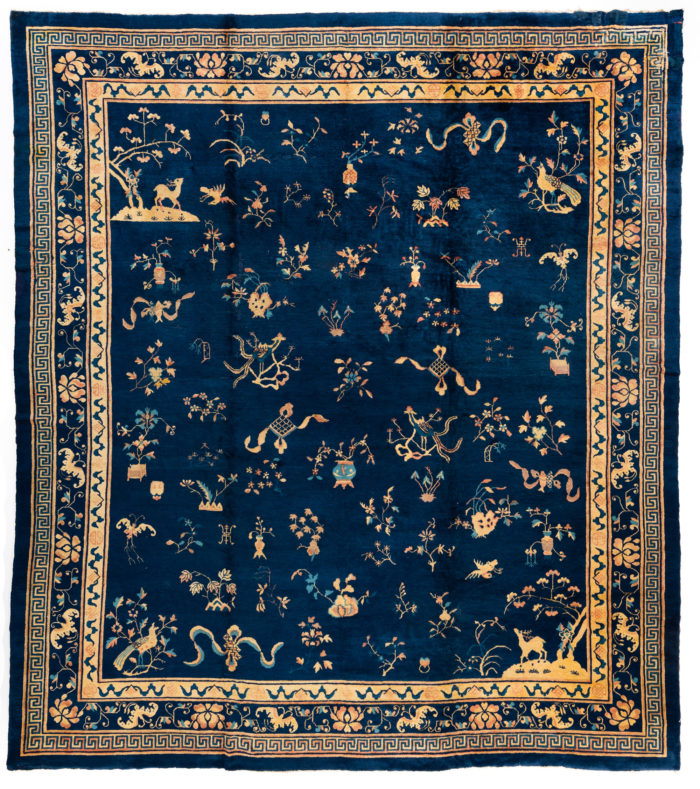 "Antique Chinese 12'2""×13'8"""