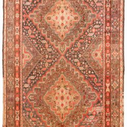 "Antique East Turkestan Khotan 7'0""×13'7"""