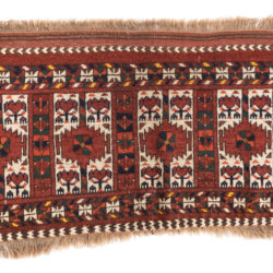 "Antique Ersari Turkestan  1'6""×3'3"""