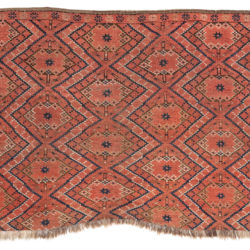"Antique Ersari Turkman Juval 3'2""×5'2"""