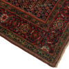 """Antique Feraghan Sarouk Rug Hand-Knotted Wool 4'0""""×5'7"""""""