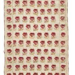"Antique Ghiordes Rug 3'4""×5'3"""