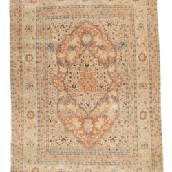 "Antique Hadji Jalili Tabriz 4'0""×5'6"""