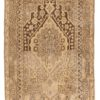 """Antique Hand-Knotted Muted Wool Khotan Rug 4'6""""×8'3"""""""