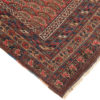 """Antique Hand-Knotted Wool Persian Afshar All-Over Boteh Tribal Rug 4'5""""×6'2"""""""