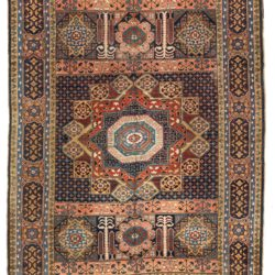 "Antique Heriz Rug 8'4""×11'7"""