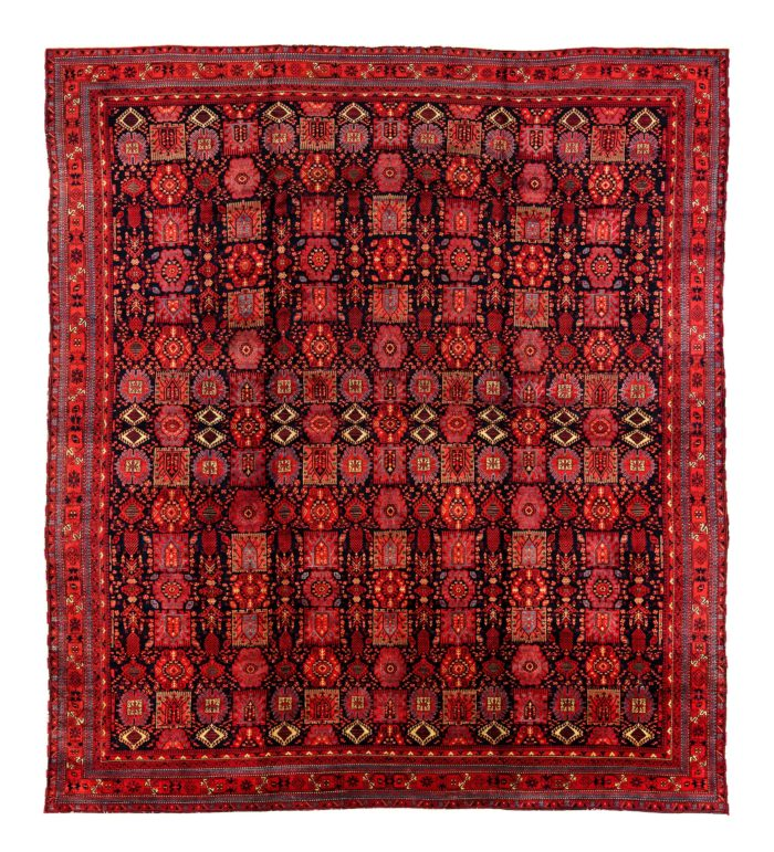 "Antique Indian Agra  16'0""×18'1"""