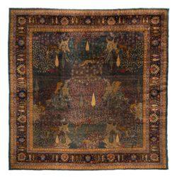 """Antique Indian Agra 11'11""""×11'11"""""""