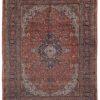 """Antique Kashan Rug 8'8""""×11'7"""""""
