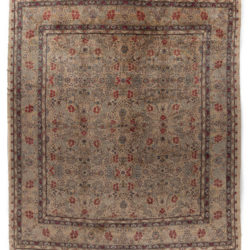 "Antique Kerman Rug 16'9""×19'0"""
