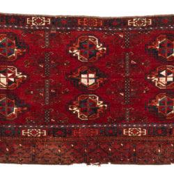 "Antique Kizil Ayak Turkestan 2'7""×5'9"""