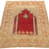 "Antique Konia Prayer Rug 4'0""×5'6"""
