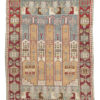 "Antique Konia Rug 3'4""×4'11"""