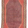"Antique Kurdish Kilim 5'0""×9'7"""