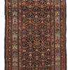 "Antique Kurdish Rug 3'8""×6'6"""