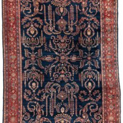 "Antique Mahajeran Sarouk Rug 11'10""×19'9"""