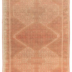 "Antique Malayer Rug 4'11""×6'10"""