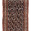 "Antique Malayer Rug 5'0""×11'2"""