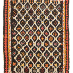 "Antique Moroccan Rug 3'6""×5'0"""