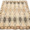 """Antique Moroccan Rug 5'3""""×6'9"""""""