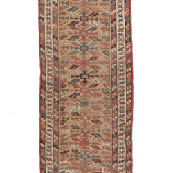 "Antique N.E. Persian Rug 3'9""×11'0"""