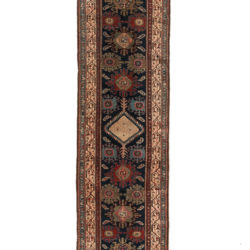 "Antique NW Persian Sereband Runner 2'8""×16'7"""